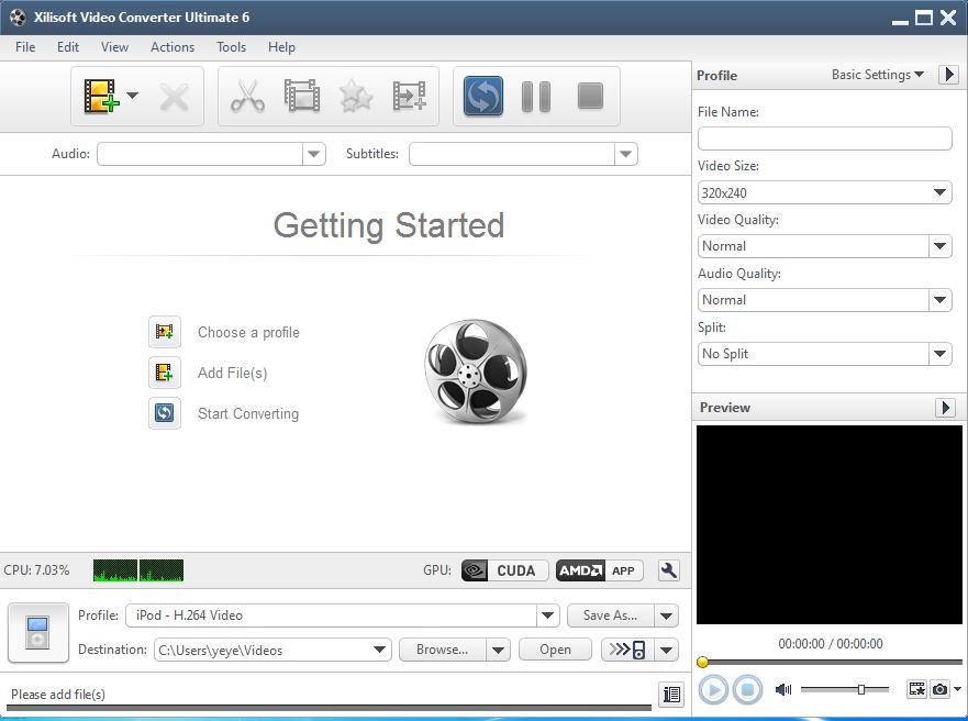 Xilisoft converter